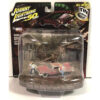 1958 Plymouth Fury Dirty Version With Arnie And Dennis Figures Christine 1983 Movie Diorama Johnny Lightning 50th Anniversary 1 64 Diecast Model Car By Johnny Lightning